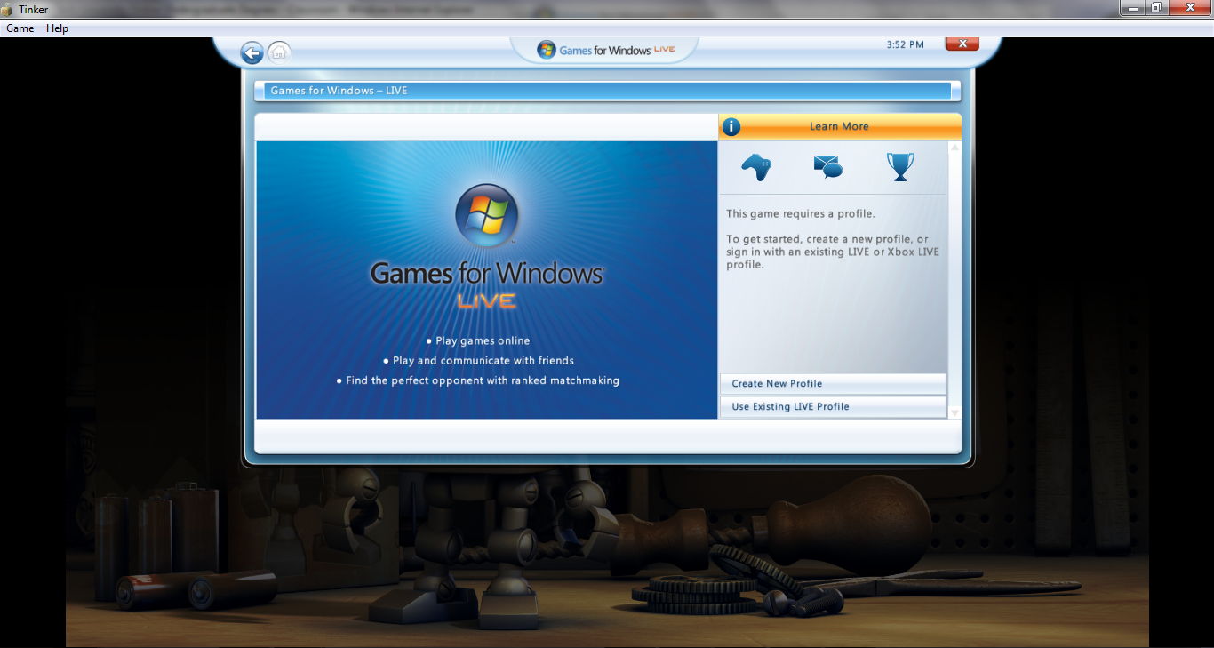 games for windows live account sign up