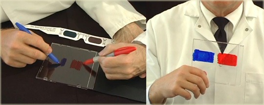 How to Make 3D Glasses at Home in 10 Seconds