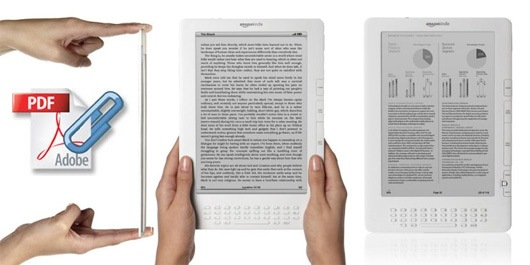 kindle dx as pdf reader