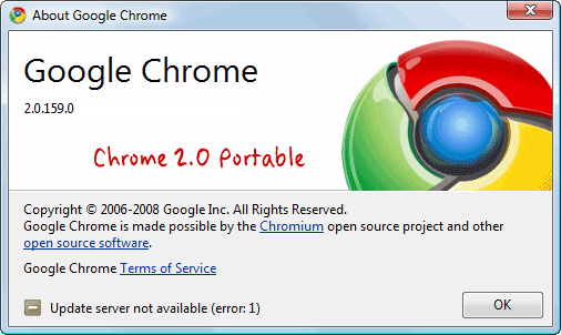 To download your copy of portable Google Browser, head over to this