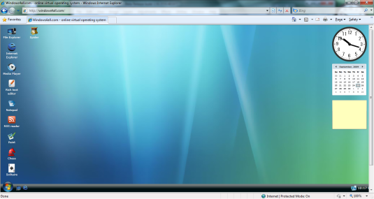windows os - made with silverlight
