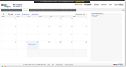 Zoho Projects - calendar