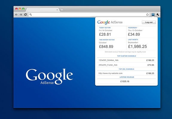 The Official Google AdSense Toolbar for Chrome is Available