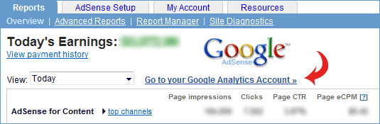 adsense with google analytics