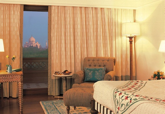Taj view from the Amarvilas