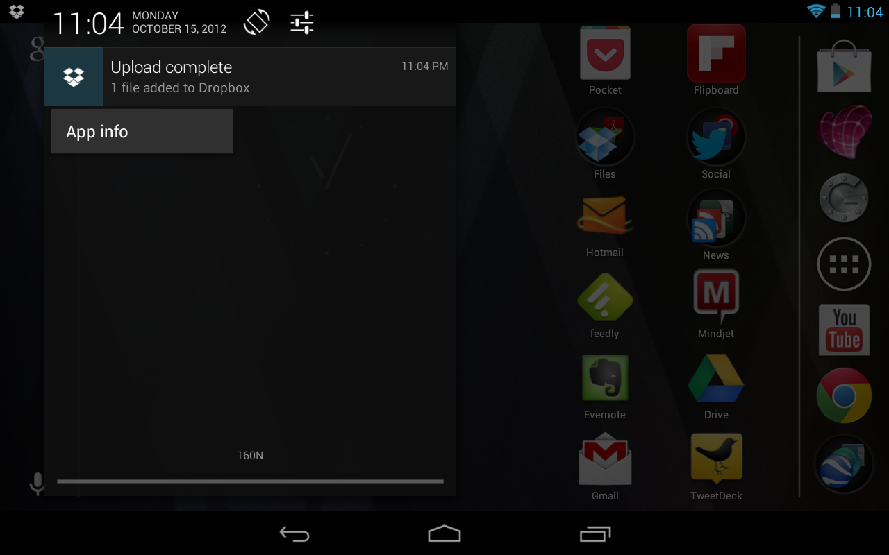 Android Notification Bar