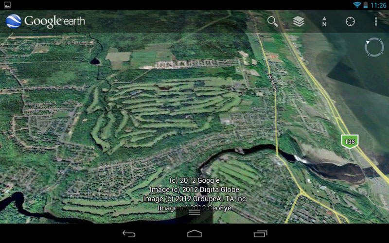 How to capture screenshots of google earth and google maps on android this screenshot of google earth was captured with android gumiabroncs Images