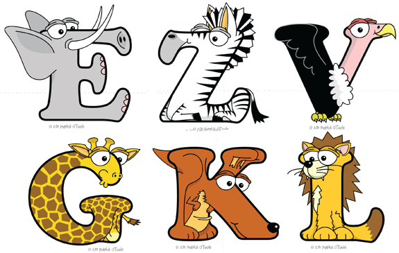 animal alphabets