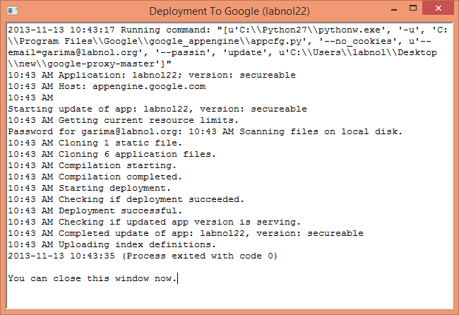 How to Setup Your Own Web Proxy Server For Free with Google App Engine