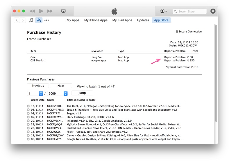 How To Return Apps Purchased From The Mac App Store