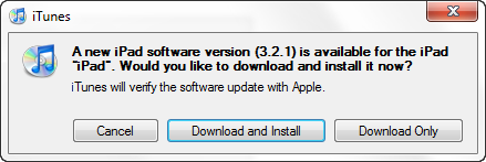 iPad Users - Download the Latest Software Update (Firmware