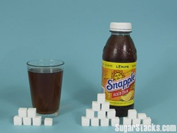 sugar in snapple drink