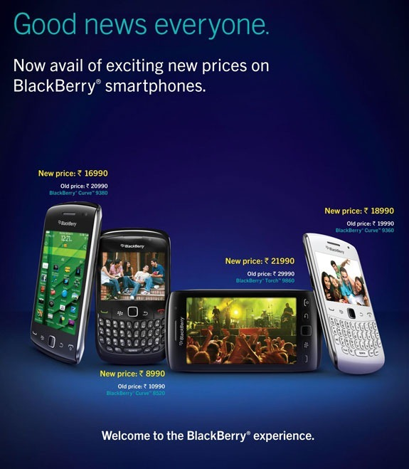 blackberry prices