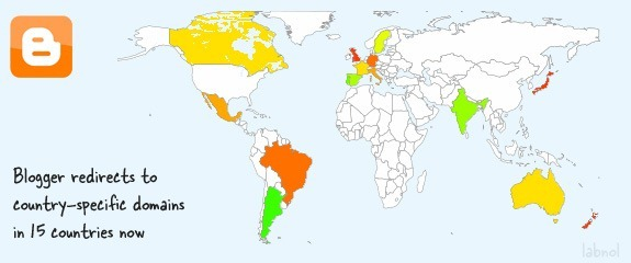 blogger countries