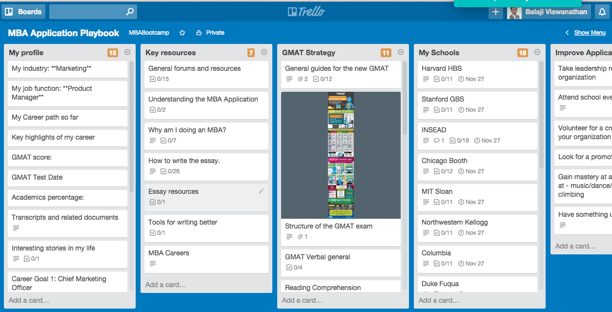 Class Teaching with Trello