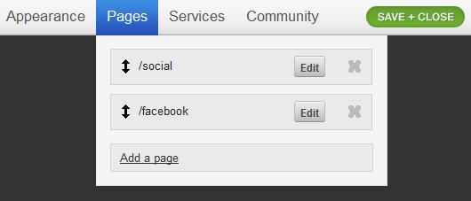 Create Static Pages in Tumblr