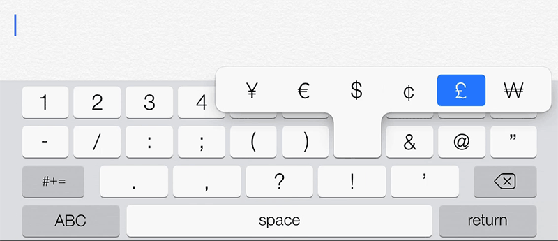 Keyboard Shortcuts And Typing Tips For Ipad Iphone Ipod Touch