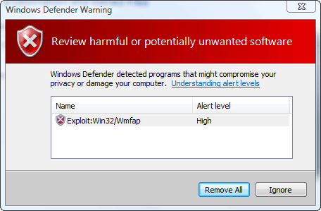 gmail windows defender