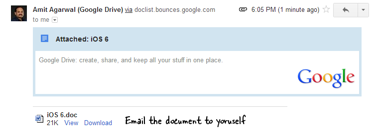 Download Doc from Google Docs