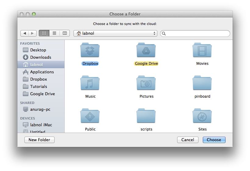 Dropbox for Mac Sync