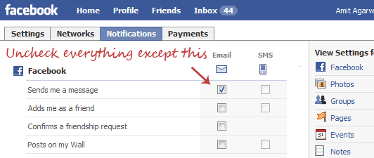 Getting Too Many Emails from Facebook? Turn Them into a