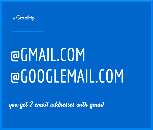 gmail addresses