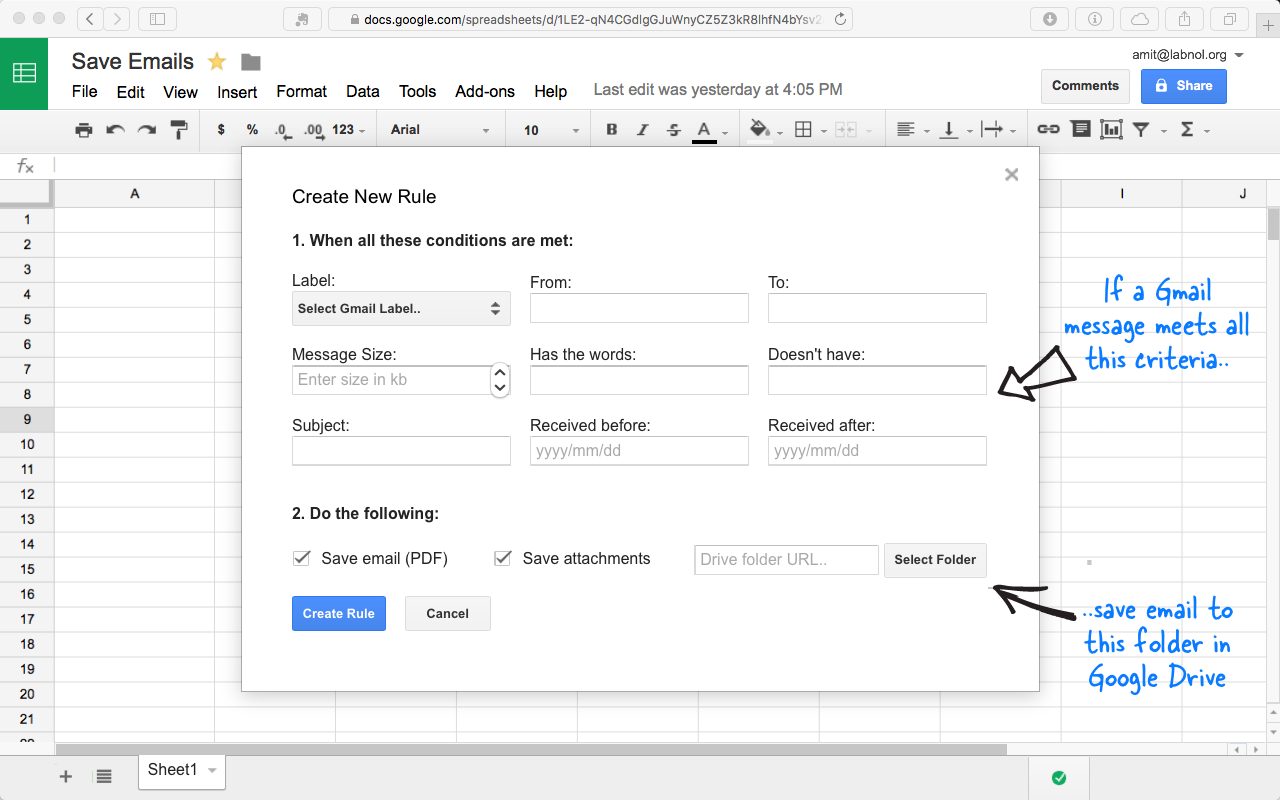 How to save gmail emails and attachments to google drive save gmail attachments to google drive ccuart Images