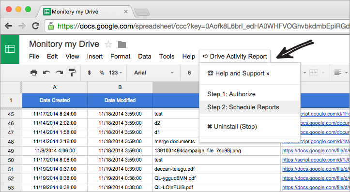 Google Drive Activity Report Monitor File Changes In Drive