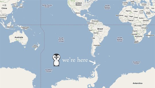 Antarctica Penguins On Google Maps - Google maps entire us