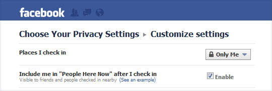 hide facebook location