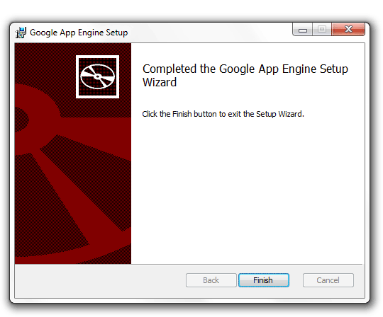 Install Google App Engine SDK