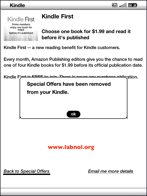 How to Remove Ads from Kindle with Special Offers for Free