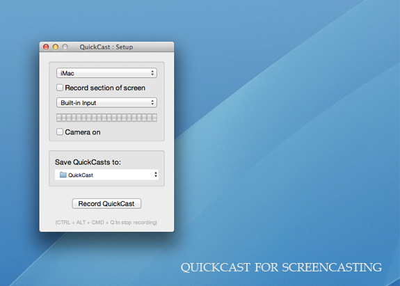 Screencasting App for Mac