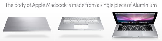 macbook aluminum unibody