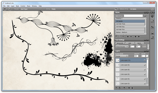 Create Beautiful Drawings With Livebrush Free