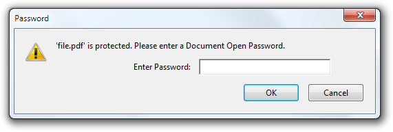 PDF Password, bypass PDF password, unlock PDF password