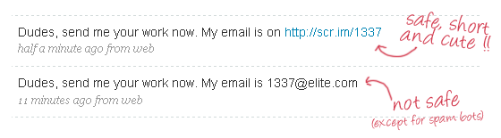 Email in Plain Text