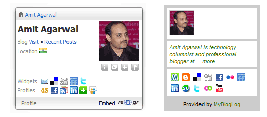 embed profile cards
