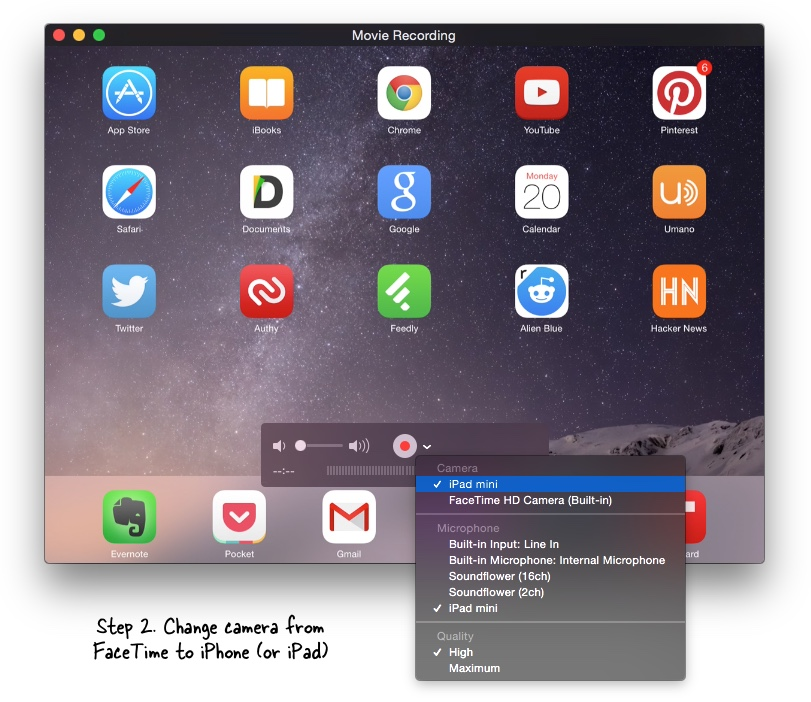 iphone screen recorder how to use quicktime as an ios screen recorder 2237