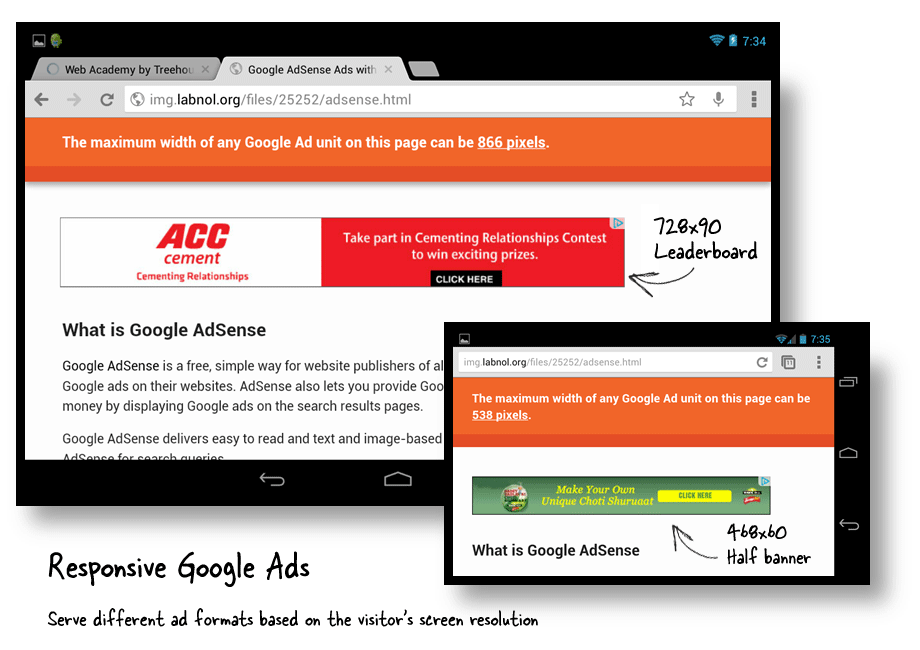 how to run ads on your website