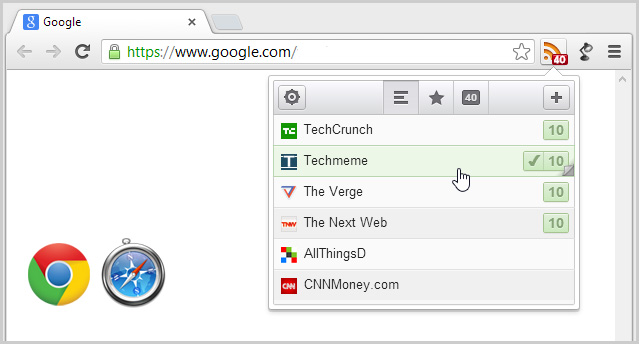 RSS Reader for Chrome