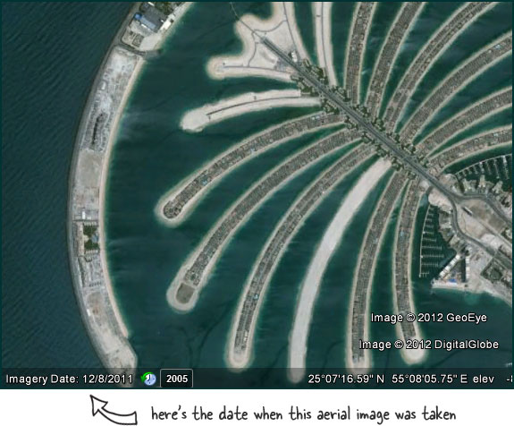 Find The Date When Satellite Images On Google Maps Were Taken - Earth map live satellite view