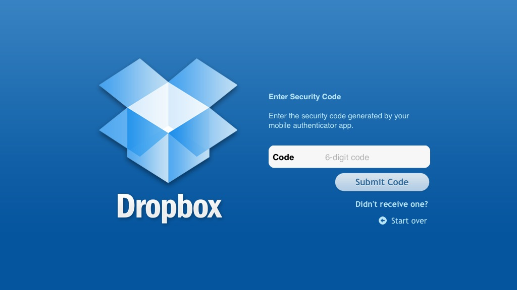 How To Secure Your Dropbox Account With 2 Step Verification