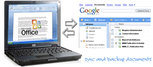 sync and backup google docs