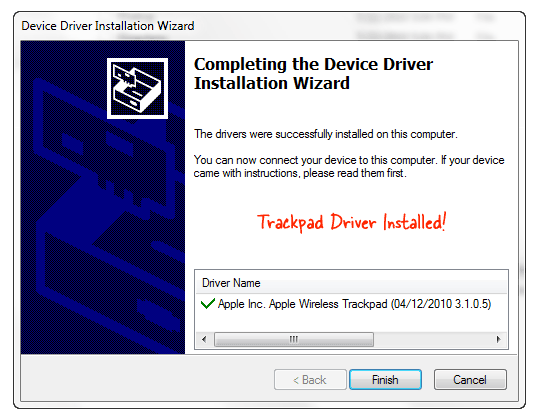 trackpad windows driver