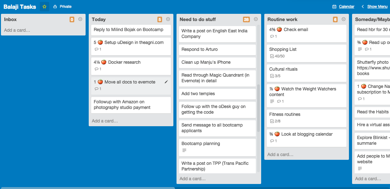 Trello - Getting Things Done