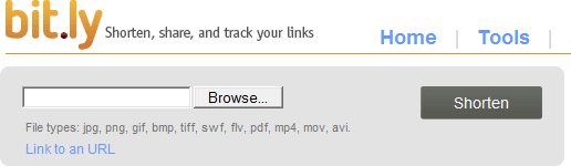 upload files to bitly