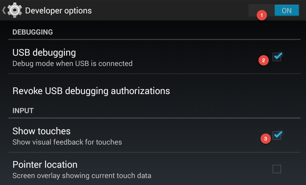 USB Debugging - Android