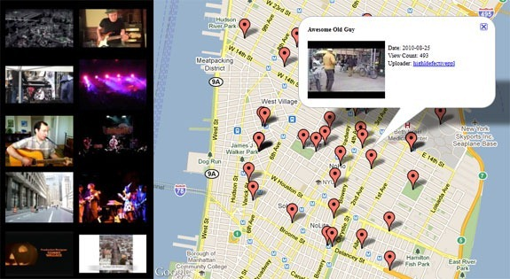 video search by location