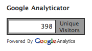 analytics visitor counter